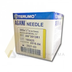 Igły Terumo Agani 30G 0,3 x 13mm - 100 szt.
