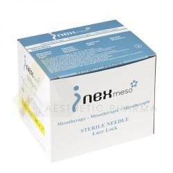 INEX Igły do mezoterapii - 30G 0,3x4mm - 100 sztuk