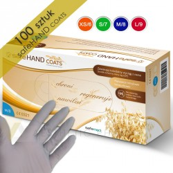 Safemed Rękawice nitrylowe SafeHand COATS 100 szt.