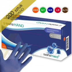 Safemed Rękawice nitrylowe SafeHand 200 szt.