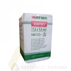 Batist Kompresy z gazy niejałowe 7,5 x 7,5 cm (100 szt.)
