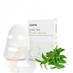 Croma_Princess SkinCare Green Tea Mask 1 sztuka