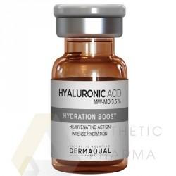 Dermaqual Hyaluronic Acid MW-MD 3,5% 5ml czysty kwas hialuronowy zapobiega starzeniu się skóry