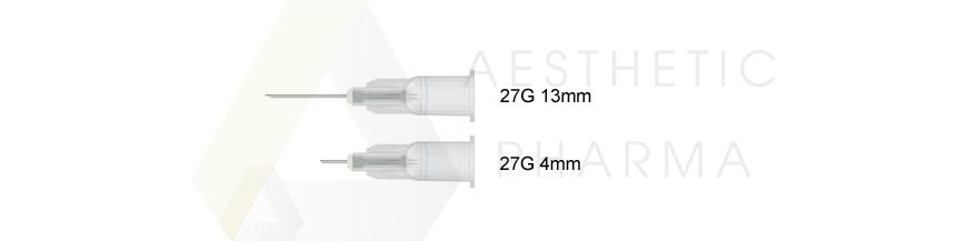 Igła 27G 4mm, Igły 27G 13mm Meso Relle Inex